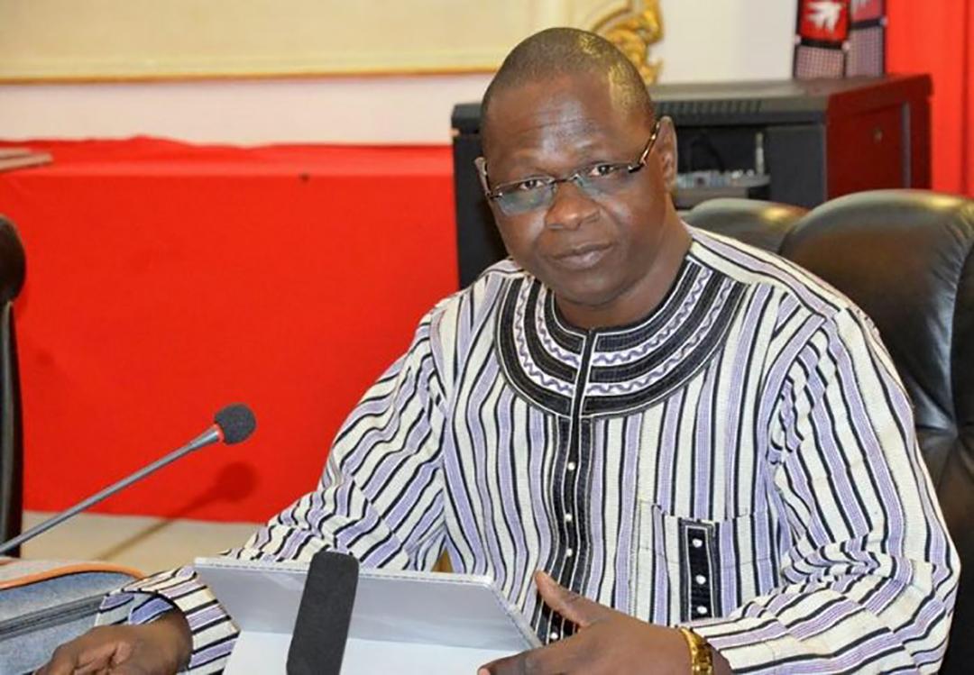 Mwin Nog Ti Luc Hien, directeur de cabinet du Premier ministre burkinabè.