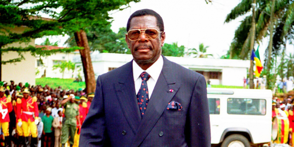 Victor Fotso, à Yaoundé en 2006.
