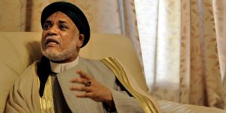 Ahmed Abdalla Sambi, en avril 2010, lorsqu'il était président des Comores (Archives).