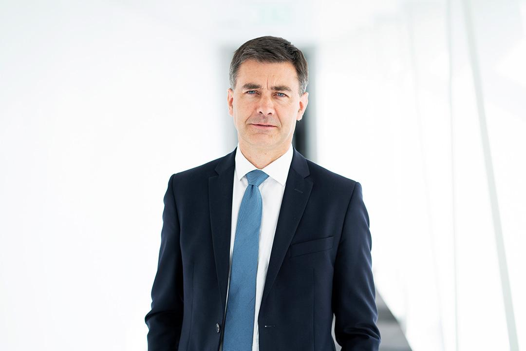 Guillaume Sauvé, président de la branche Génie civil, Eiffage