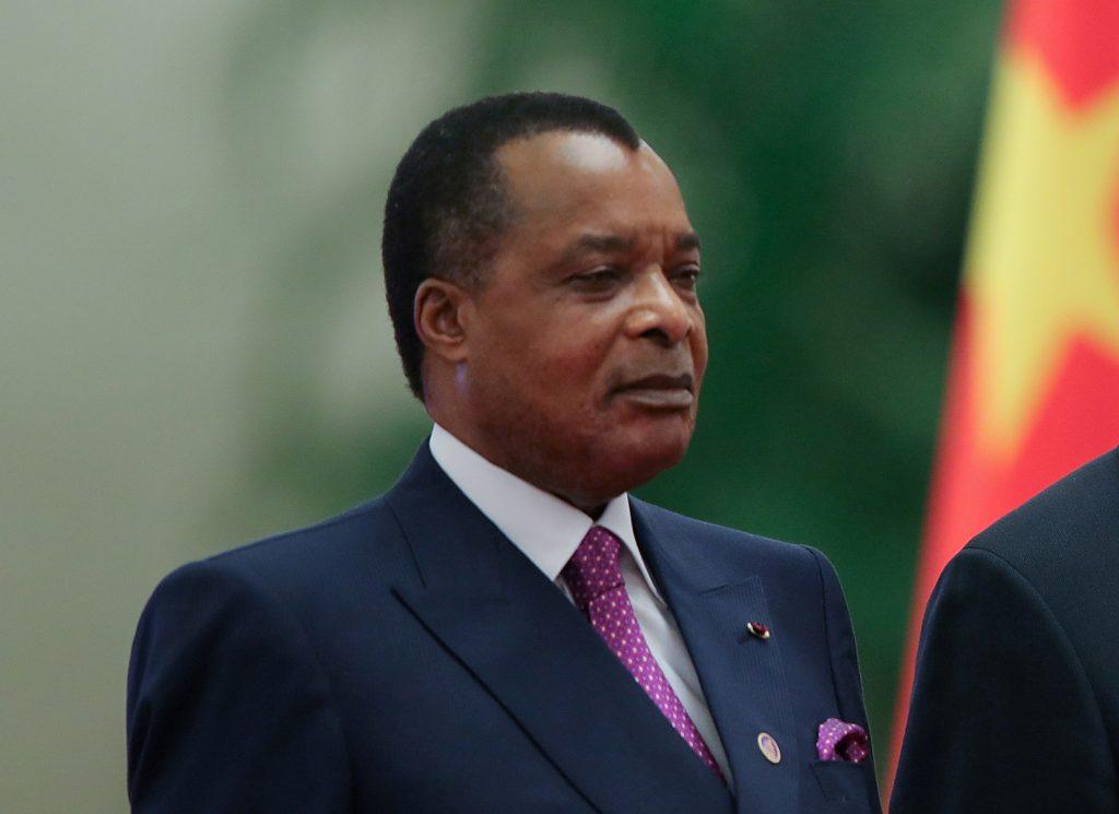 Le président congolais Denis Sassou Nguesso à Pékin, en septembre 2018.