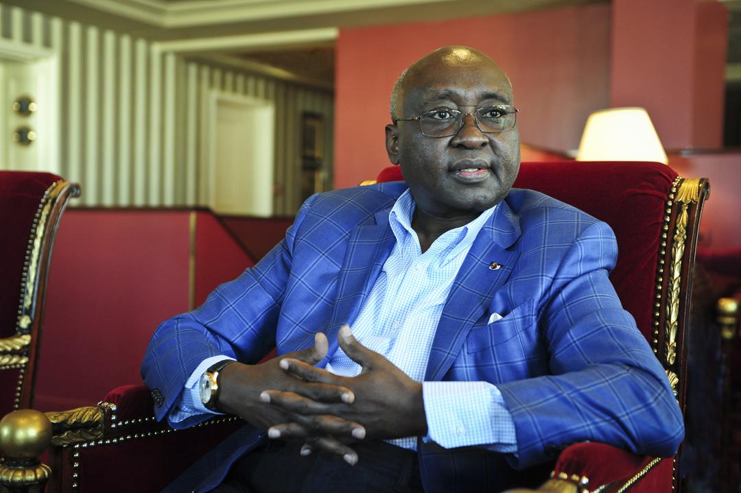 L'économiste rwandais Donald Kaberuka est l'ancien président de la Banque africaine de développement. Ici à Paris, en 2016.