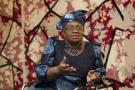 Ngozi Okonjo-Iweala, alors ministre de l'Économie et des Finances, au Forum sur le partenariat entre l'Afrique et la France, à Bercy le 6 février 2015.