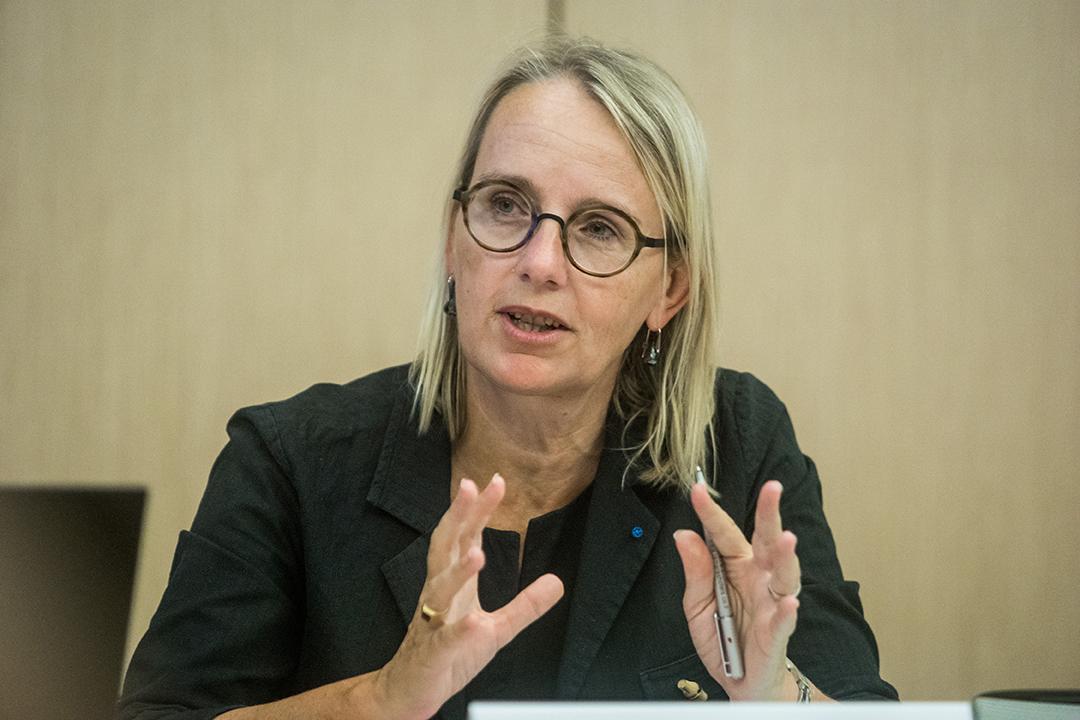 L'ambassadrice de France au Maroc, Hélène Le Gal.