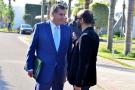 Aziz Akhannouch, patron du RNI, et son conseiller en communication, Youssef Ait-Akdim