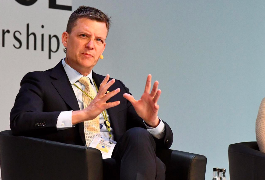 Rob Shuter, Managing Director of MTN at the 2019 edition of the South African Investment Conference in 2019.