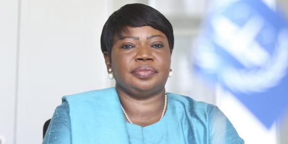 Fatou Bensouda, procureure générale de la Cour pénale internationale, en 2018.