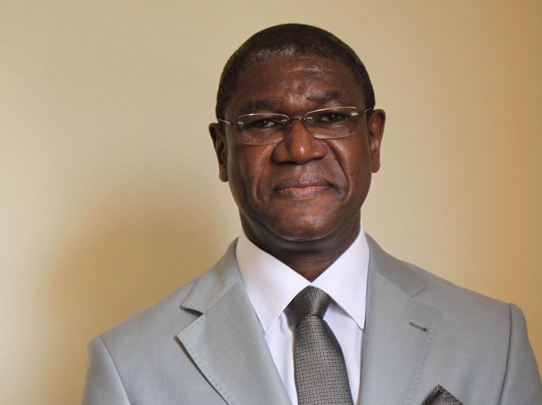 Yves Michel Fotso, au Tribunal criminel spécial de Yaoundé, Cameroun le 4 mars 2015.