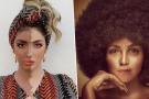 Malgré de multiples protestations, l'influenceuse algérienne Souhila Ben Lachhab (à g.) et Tania Saleh, une chanteuse libanaise, ont refusé d'enlever d'Instagram ces photos d'elles-mêmes grimées, qui prolongent la tradition raciste du «blackface».