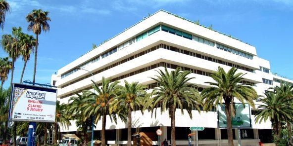 Sieèe d'attijariwafabank, à Casablanca.