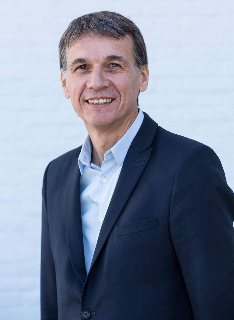 Éric Mauroux, directeur mondial de la logistique des produits périssables chez Air France-KLM-Martinair Cargo.