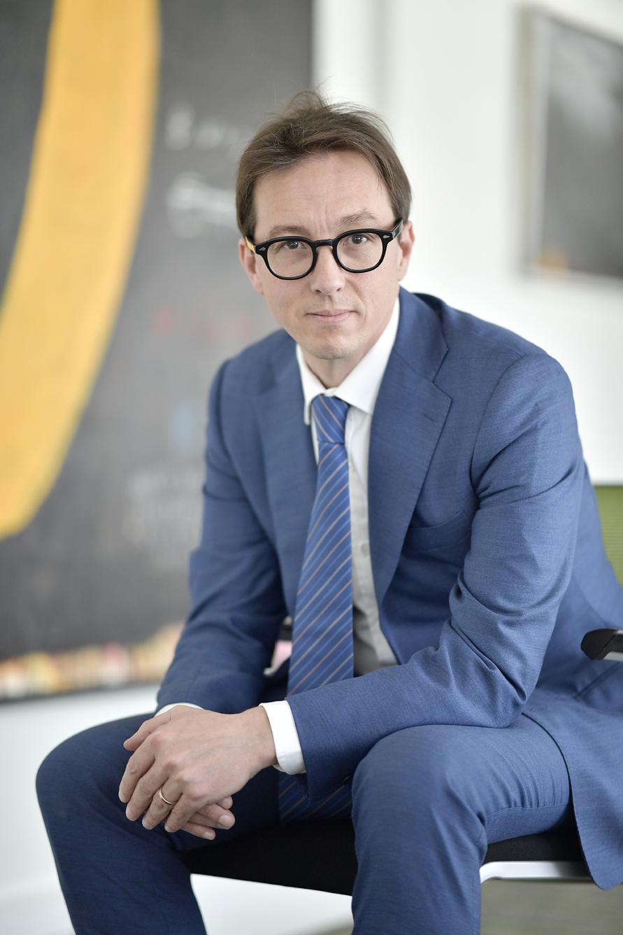 Vincent Omer-Decugis, directeur général de la SIIM.