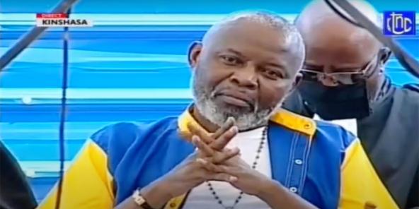 Vital Kamerhe, devant les juges à la prison de Makala, le 20 juin 2020