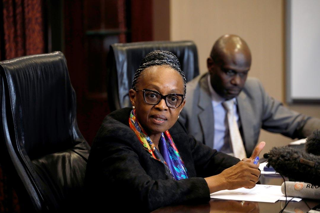 La Dr Matshidiso Moeti, directrice régionale pour l'Afrique à l'OMS, Nairobi, le 2 mars 2020.