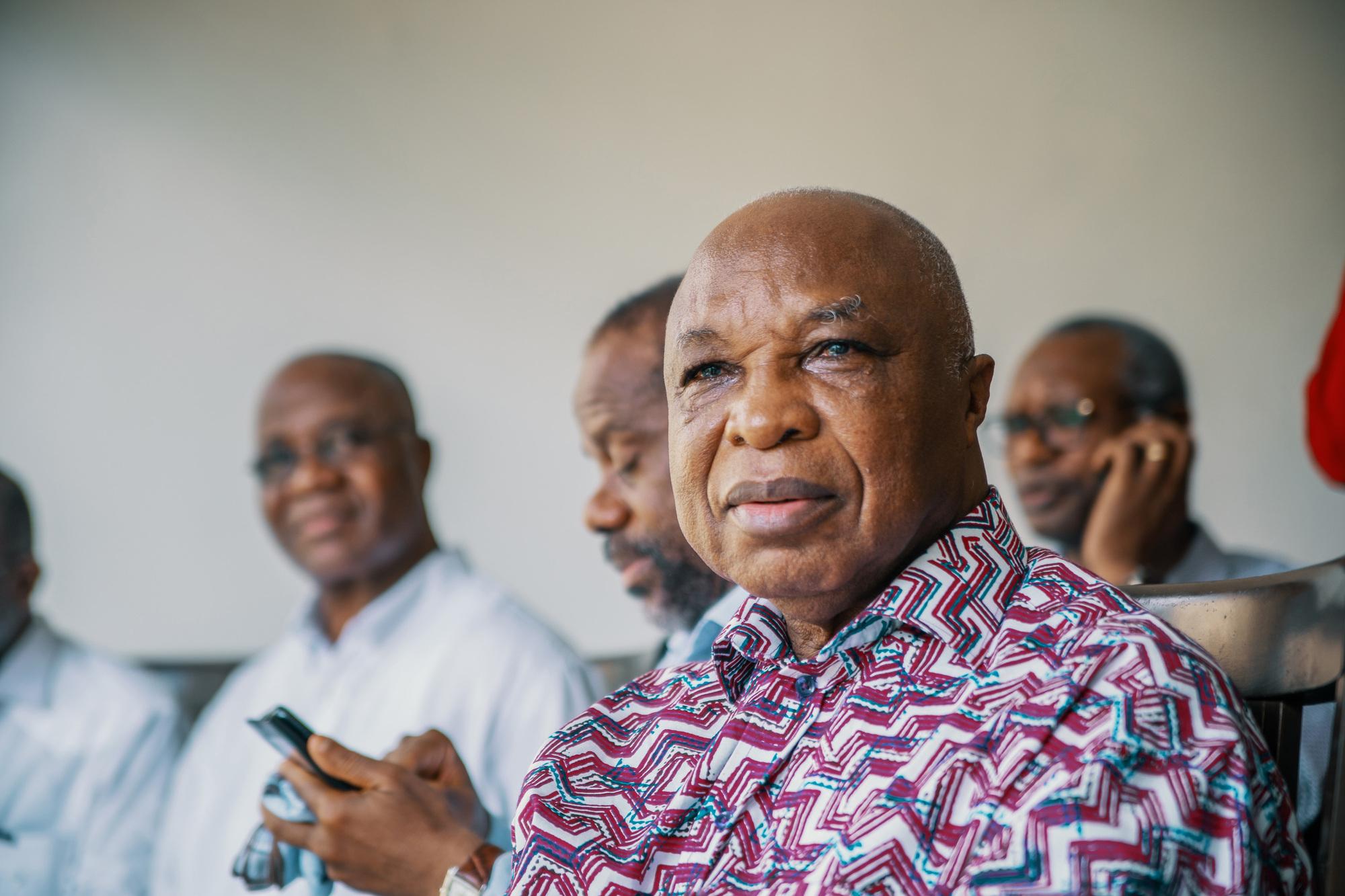 Assoa Adou, le secrétaire général du Front populaire ivoirien (FPI).
