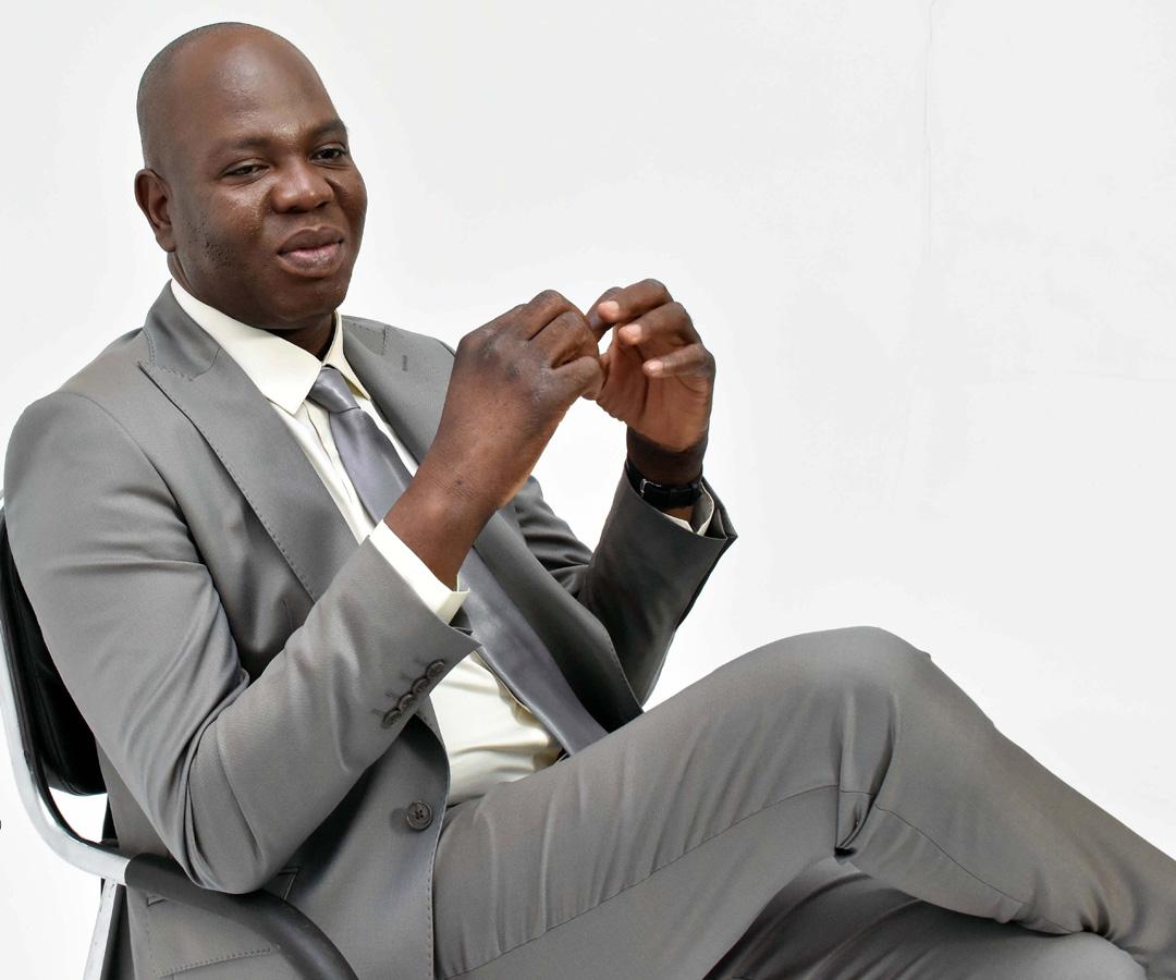 Le nouveau maire de Cotonou, Luc Atrokpo, le 6 juin 2020. Il succède à Léhady Soglo.