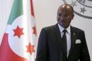 Alain-Guillaume Bunyoni, le nouveau Premier ministre du Burundi (ici à Ankara en juillet 2019), était l'un des proches de l'ancien président Pierre Nkurunziza.