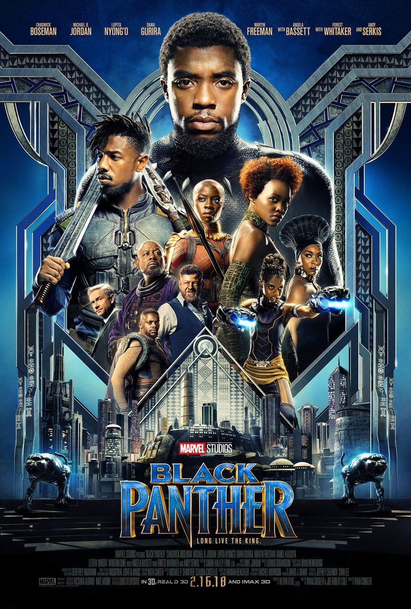 « Black Panther » de Ryan Coogler (2018)
