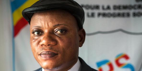 Jean-Marc Kabund-a-Kabund, le président par intérim de l'UDPS.