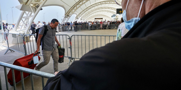 Aéroport Houari-Boumédiène, à Alger, le 27mai.