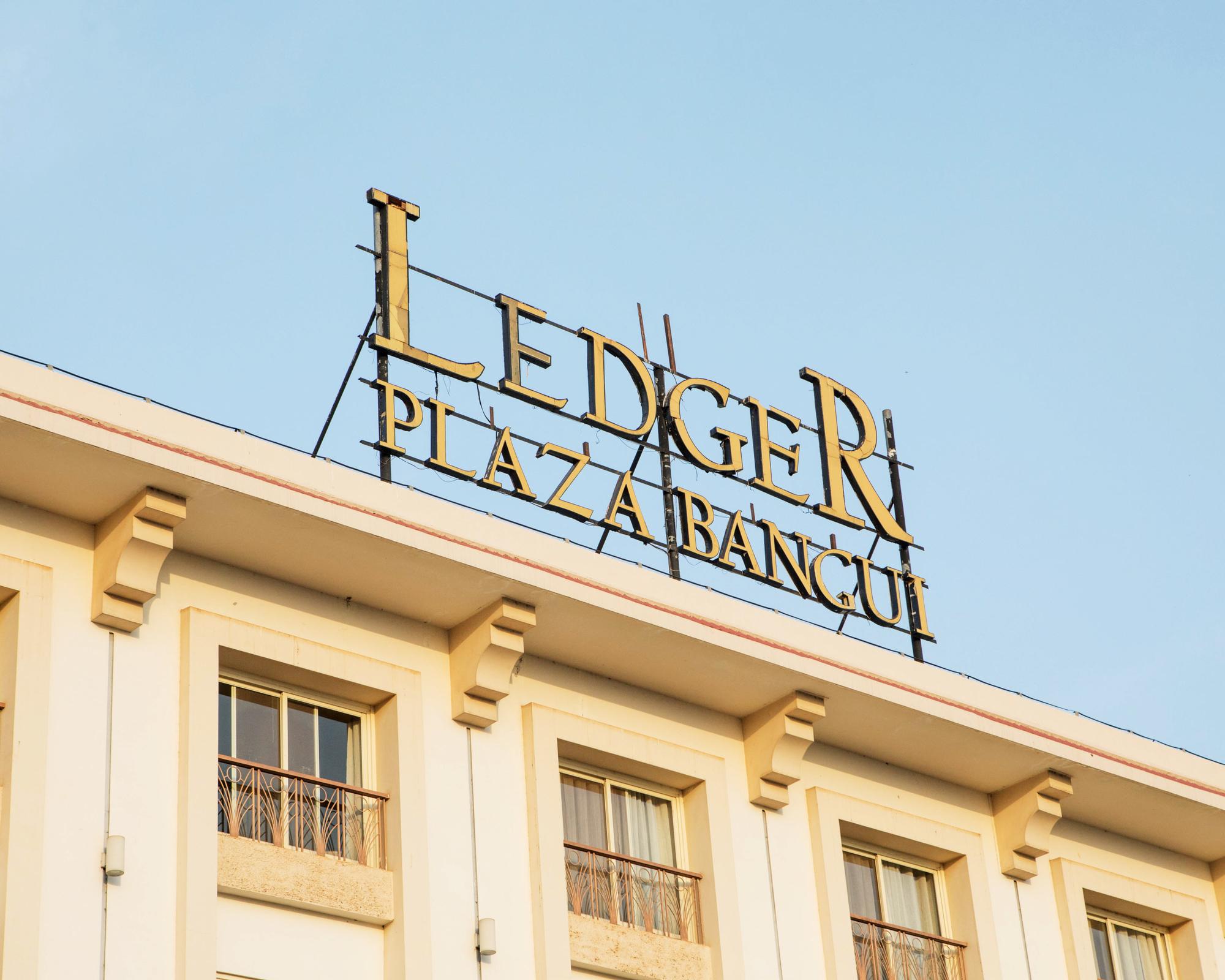 Construit par les Libyens à l'époque de Kadhafi, l'hôtel Ledger est le seul établissement étoilé de Bangui.