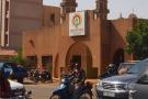Siège du CDP à Ouagadougou, en décembre 2012, avant son incendie par des manifestants pendant l'insurrection populaire de 2014.