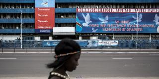 Le siège de la Ceni à Kinshasa, en 2017.
