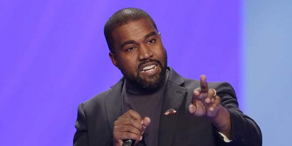 Le rappeur américain Kanye West à Houston, le 17 novembre 2019.