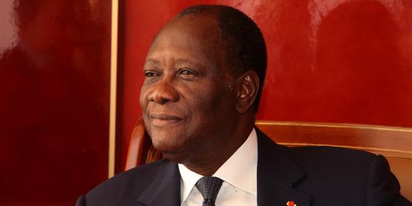 Alassane Dramane Ouattara, 17 aprile 2013.