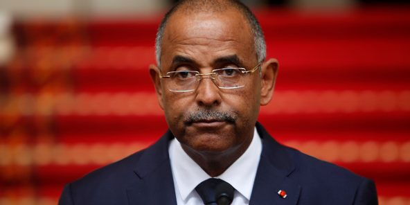 Patrick Achi, le secrétaire général de la présidence, à Abidjan.