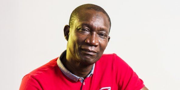 Amadou Sall, le 22 septembre 2017, à Dakar.