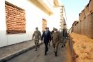Le ministre turc de la Défense, Hulusi Akar, et le chef d'état-major, Yasar Guler, en visite à Tripoli, le 4 juillet 2020.