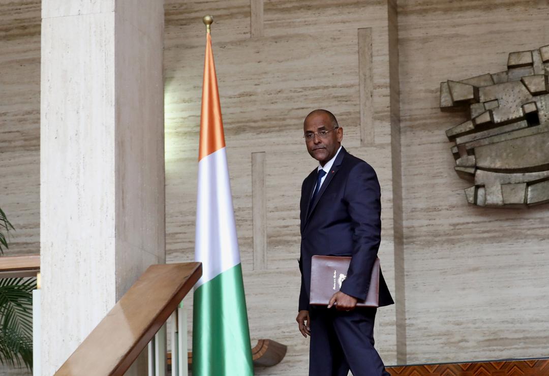 Patrick Achi, le secrétaire général de la présidence, à Abidjan, le 4 septembre 2019.