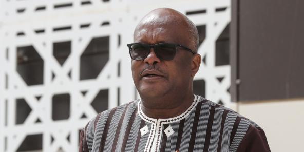 Roch Marc Christian Kaboré lors du sommet du G5 Sahel à Nouakchott, le 30 juin 2020.