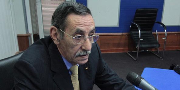 L'Algérien Abdelmadjid Chikhi, chargé des archives et de la mémoire.