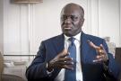 Marcel Amon-Tanoh, ici en juillet 2019 à Paris, a officiellement déclaré sa candidature à la présidentielle d'octobre 2020.