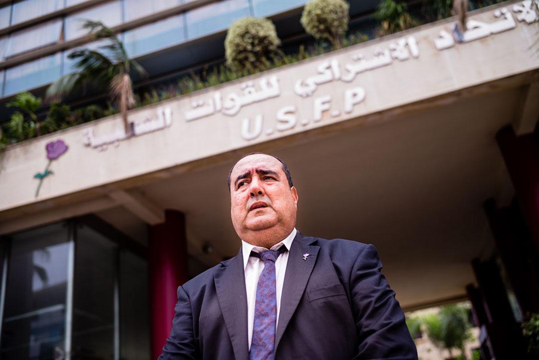L'avocat marocain Driss Lachgar est le secrétaire général de l'USFP.