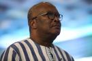 Roch Marc Christian Kaboré, ici en décembre 2019 à Abuja, est candidat à sa propre succession à la présidence du Burkina Faso.