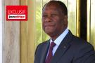 Le président ivoirien Alassane Ouattara, à Abidjan en avril 2019.