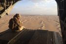 Vue du Yémen depuis un hélicoptère militaire émirati.