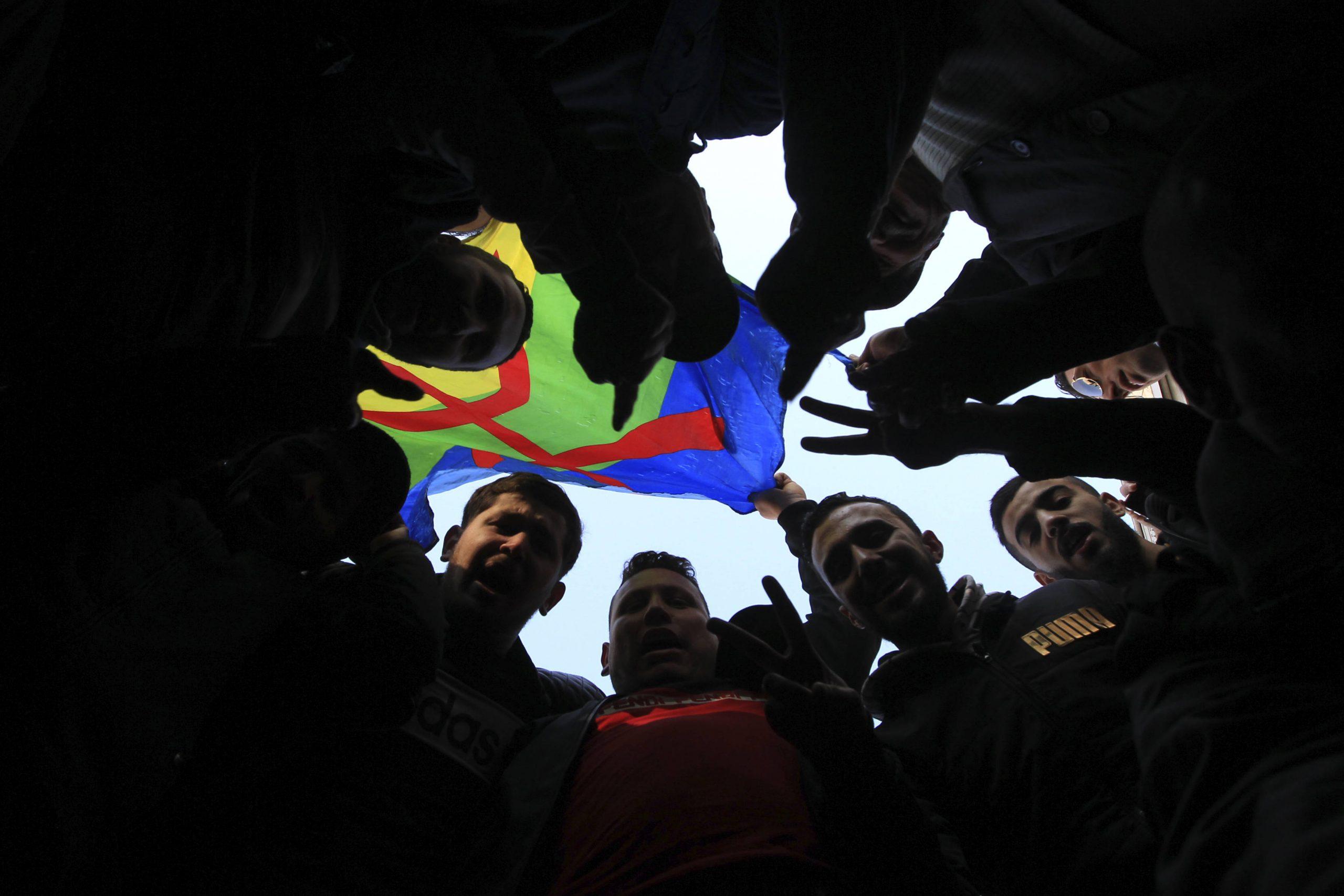 Lors d'une manifestation à Alger, le
