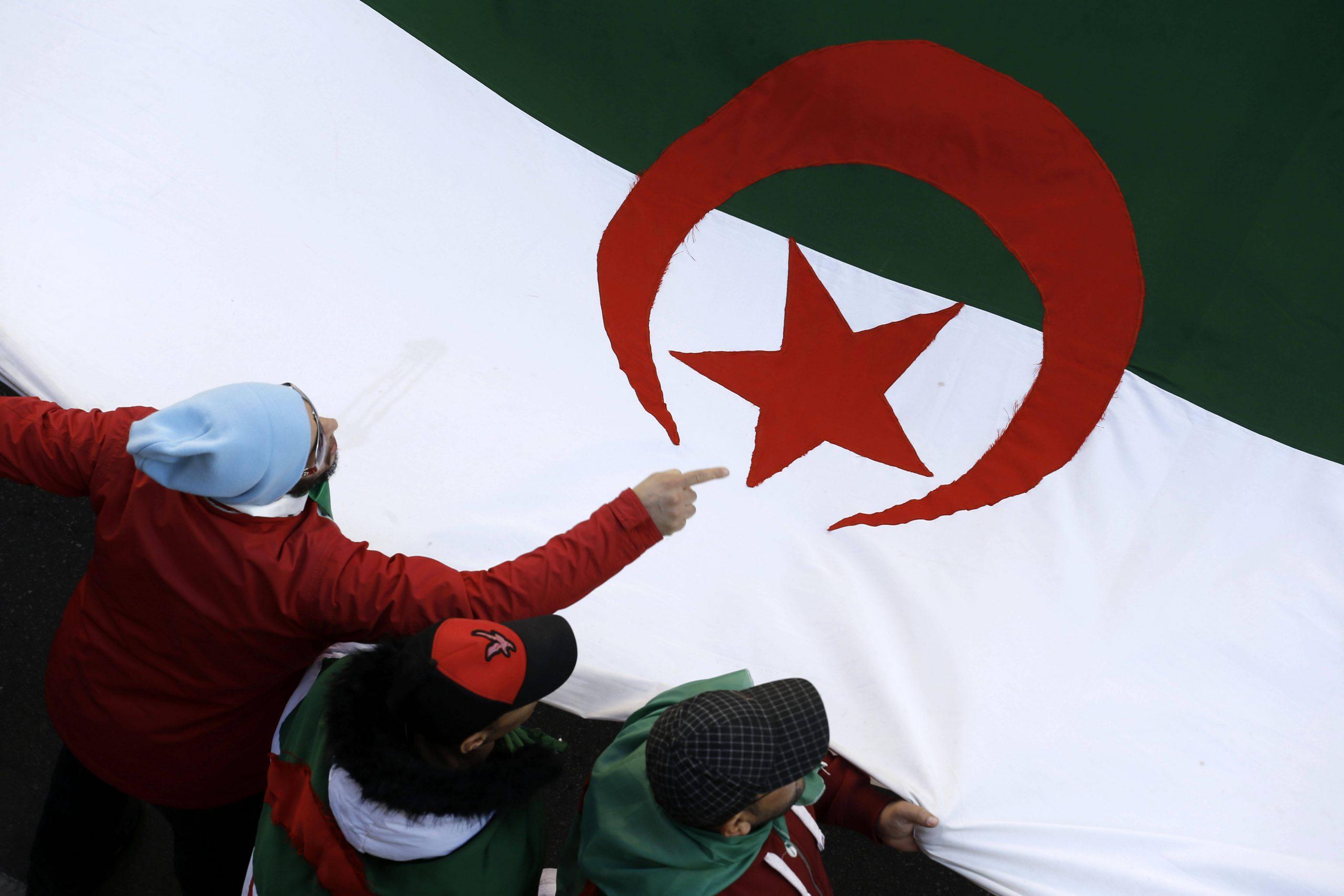 Le 17 janvier 2020, à Alger.