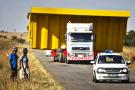 Le transport hors normes concerne les marchandises jusqu'à 250 tonnes.