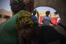 Des habitantes du nord du Mali, qui ont fuit l'insécurité et se sont réfugiées à Kati, près de Bamako, en novembre 2015.