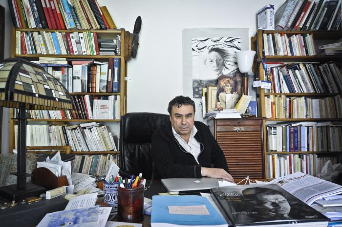 Den Historiker Benjamin Stora zu Paräis, am Joer 2013.