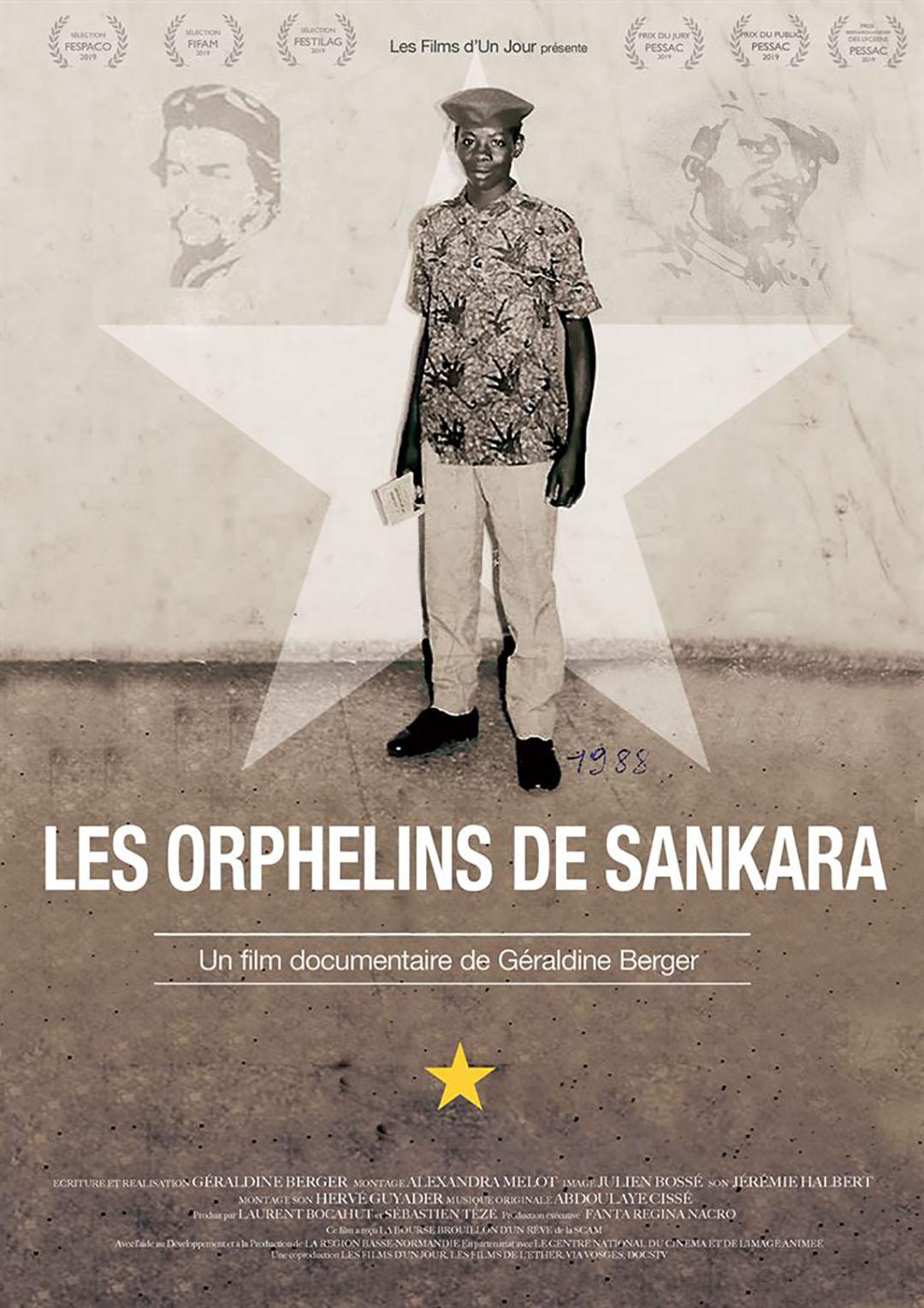 """""""Les Orphelins de Sankara"""", de Géraldine Berger, est édité en DVD et VOD chez L'Harmattan TV et disponible sur la plateforme DocsTV."""