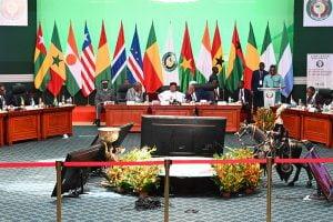 Sommet extraordinaire du 14septembre 2019, à Ouagadougou, consacré à la lutte contre le terrorisme et à l'avenir du G5Sahel.