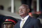 Le président ougandais, Yoweri Museveni, en février 2020.