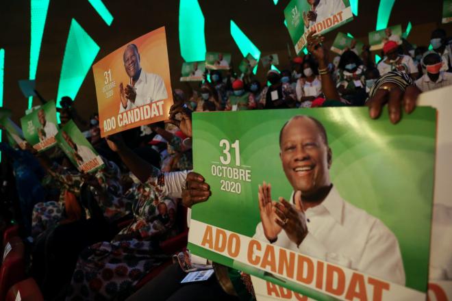 En Côte d'Ivoire, une journée de manifestations sous tension