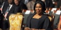 Constancia Mangue Nsue Okomo, la première dame équato-guinéenne, le 29 octobre 2011 à Malabo.